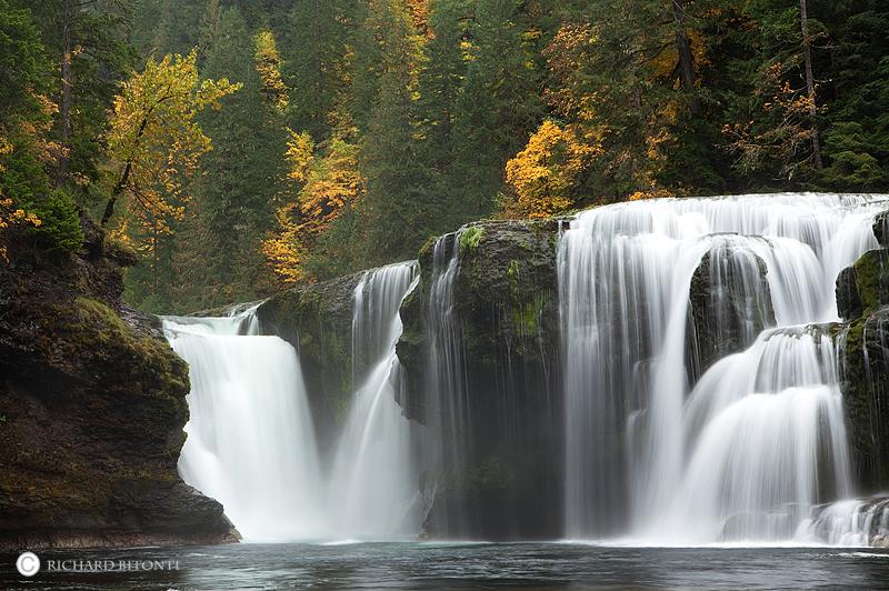 Lower Lewis Falls, Southwest Washington, washington, Fall Color, , photo