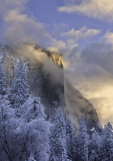 El Capitan, Yosemite Valley, Yosemite National Park, Granite, Valley View, photo